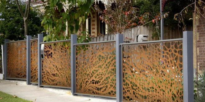 garden fence ideas QKKZDCU