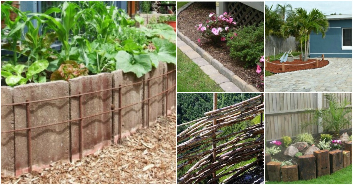 garden fencing ideas from bricks to ropes and even a few reclaimed items, there are TTNVUUP