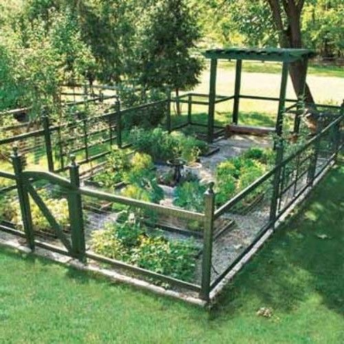 garden fencing ideas garden fence ideas INJFZIG