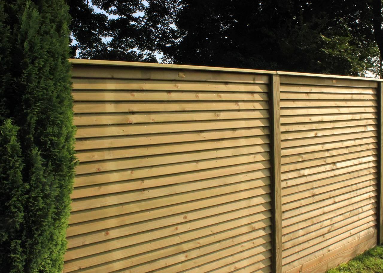 garden fencing panels louvre contemporary fence panels FVBWMKM