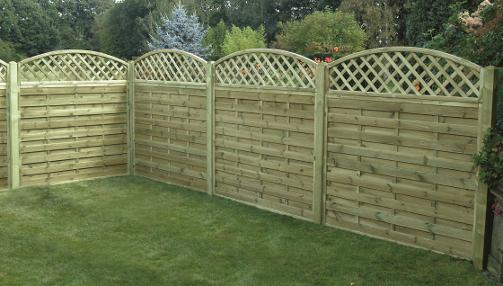 garden fencing panels square horizontal garden fence panels 150 JYUFNHO