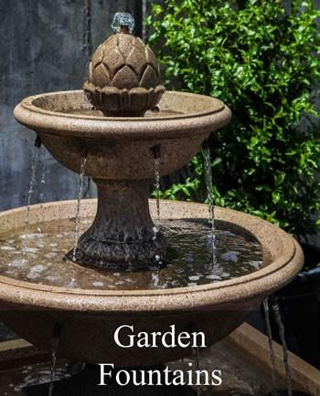 garden fountains all of our fountains include a u.l. listed pump, unless noted. we IIURSTP