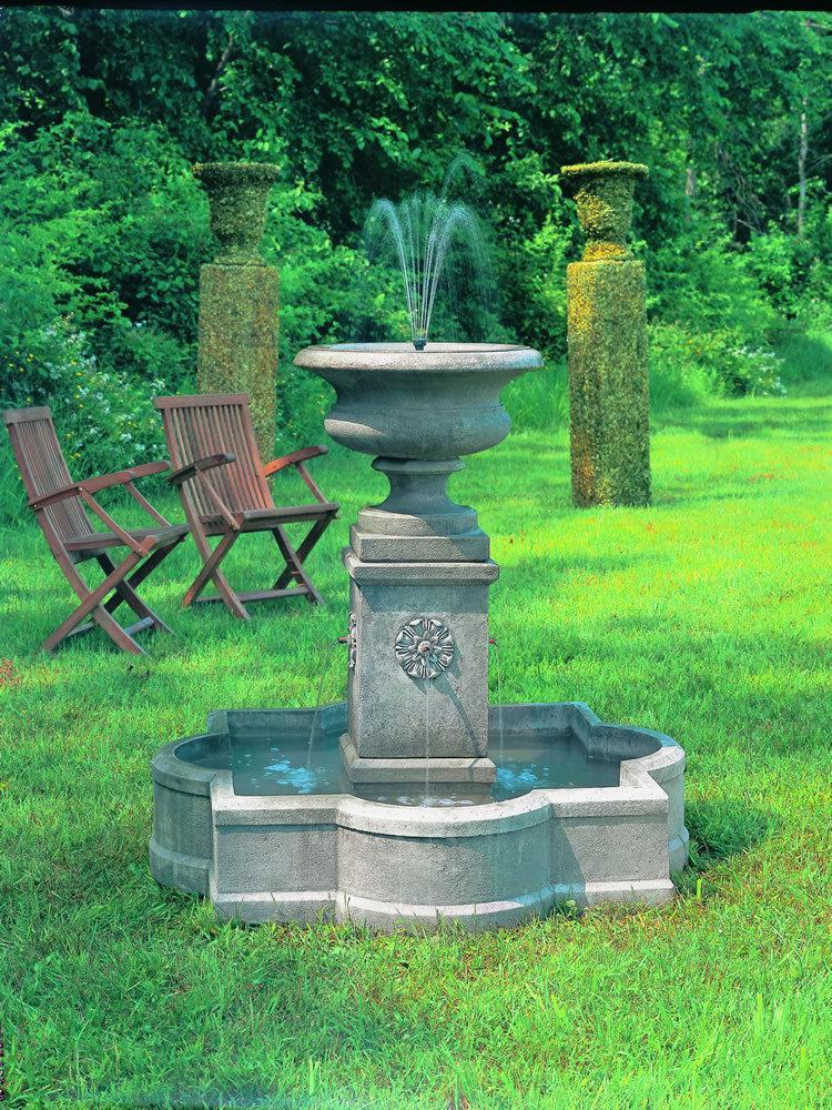 garden fountains the palazzo urn fountain KJDCUGE