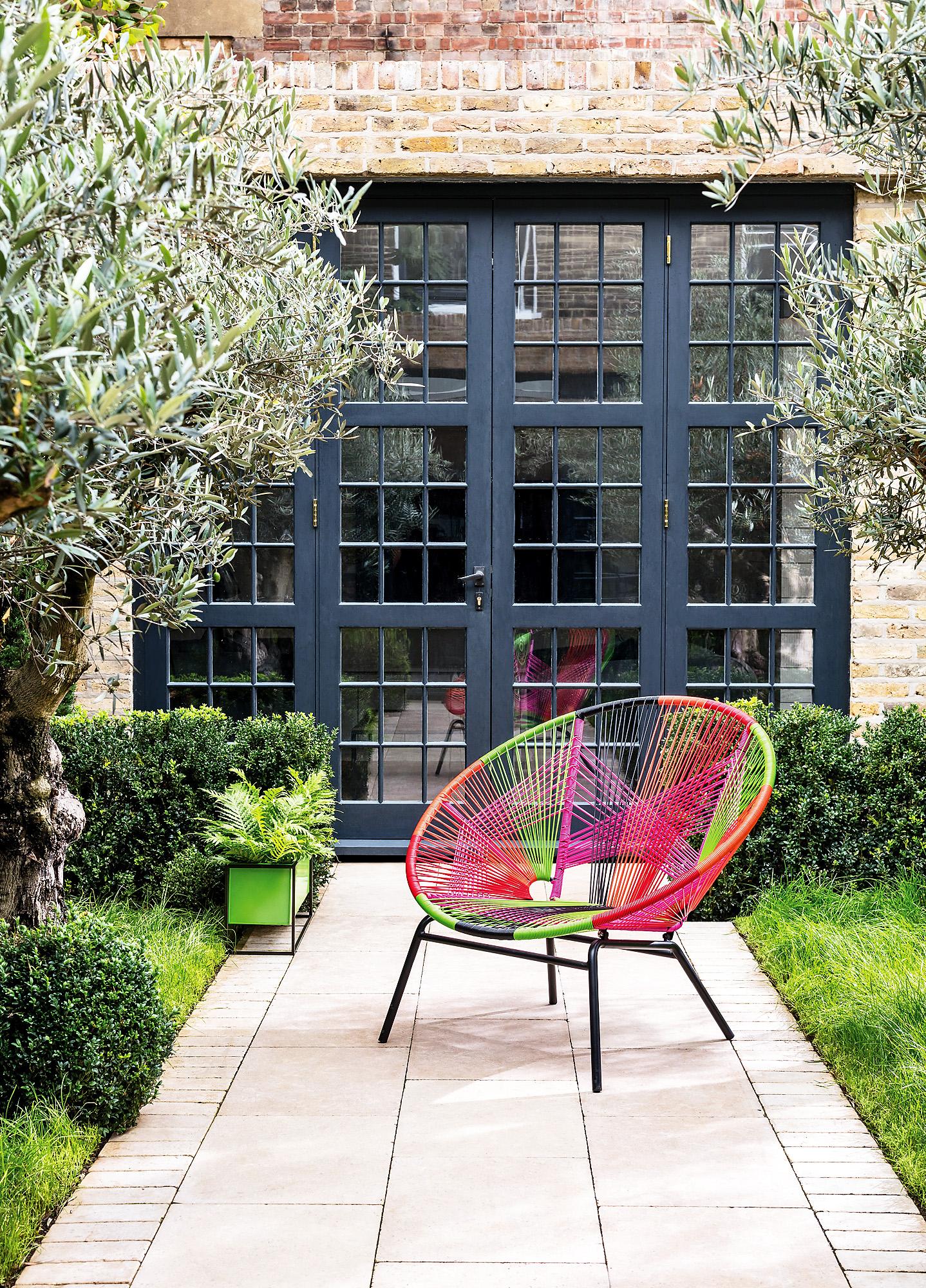 garden furniture the jambi weave occasional chair, £175, habitat.co.uk. NROIMZA