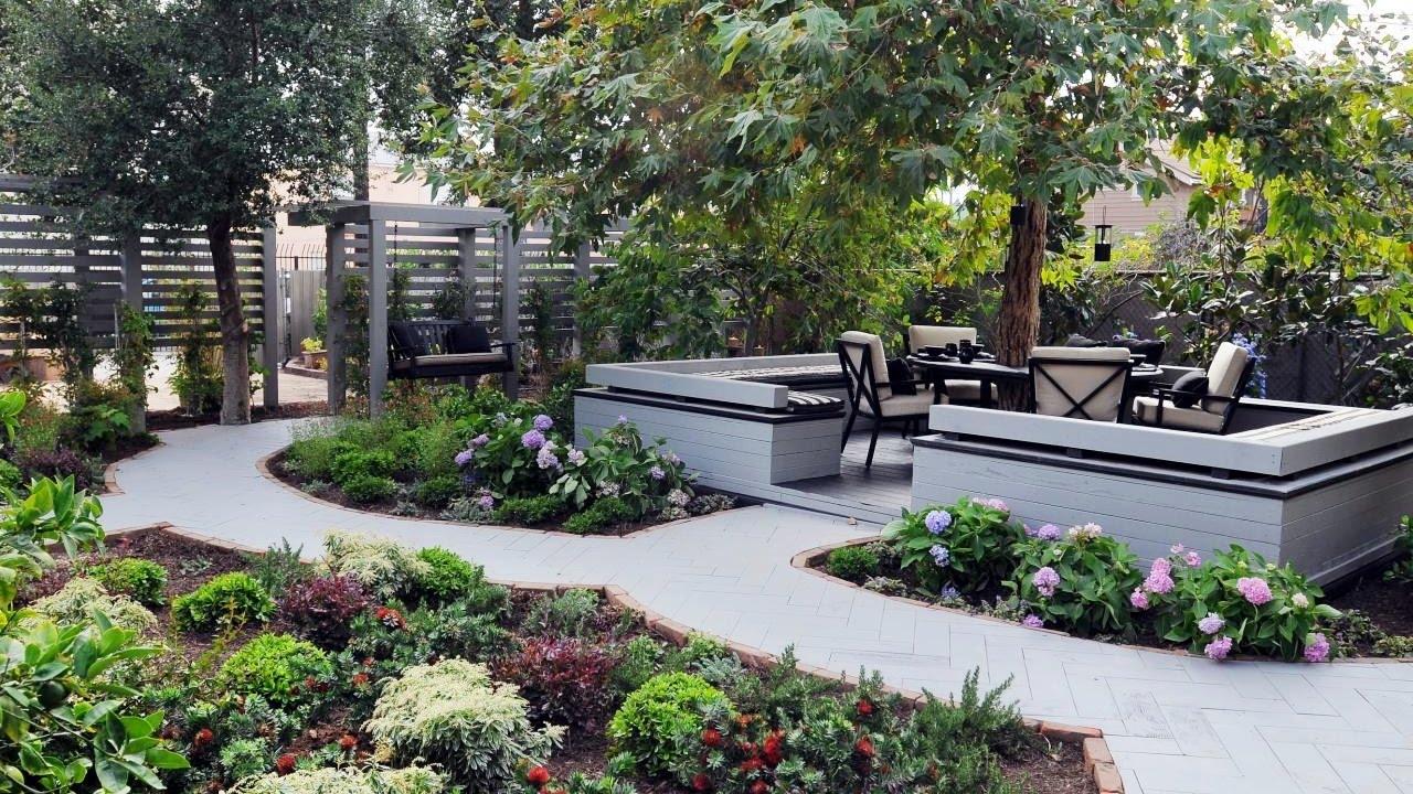 garden landscaping ideas small backyard landscaping ideas - backyard garden ideas KDAAQSM