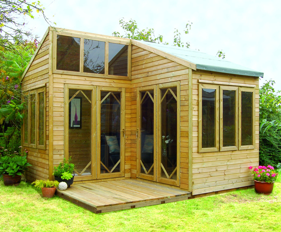 garden log cabins cabins can create extra living spaces HDJEQYF