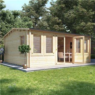 garden log cabins MXRMJWD