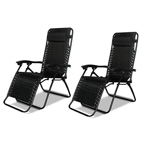 garden recliners 2 x dny© textoline reclining garden chair beach sun lounger recliner chairs MBKOYCF