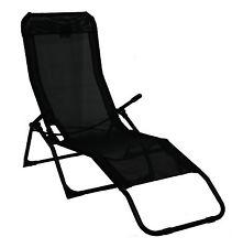 garden recliners rocker lounger black sun chair recliner outdoor garden furniture folding  chair GDDTHCY