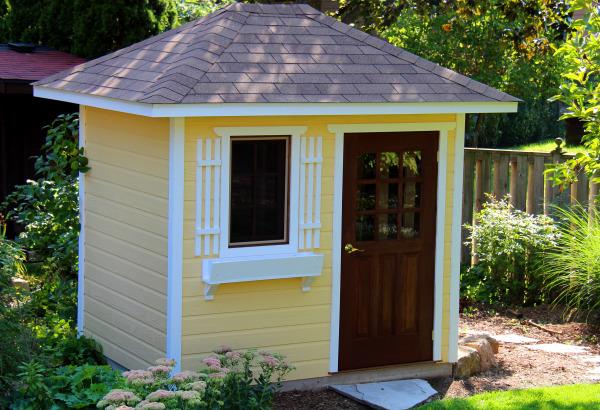 garden shed kits cedar sonoma backyard studio summerwood id number 97384 UNFDRRF