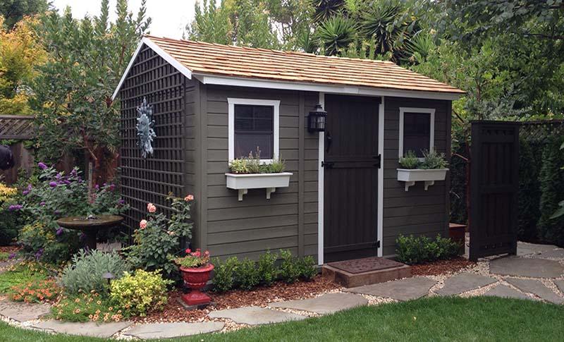 garden sheds decorative garden shed AYKXIAX