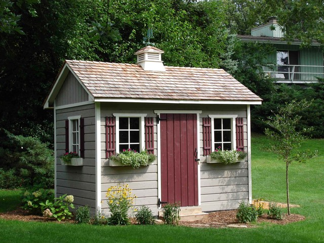 GARDEN SHEDS AND THEIR USES