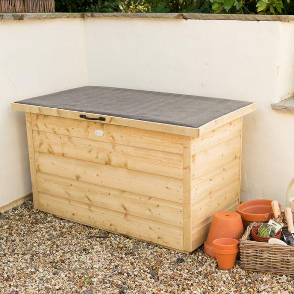 garden storage boxes hartwood pressure treated shiplap garden storage box NVSMGYD