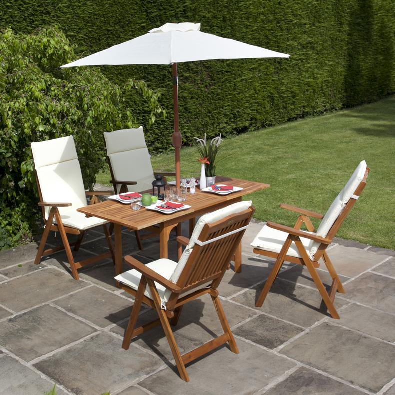 garden table and chairs fabulous garden table chairs garden furniture set reclining chairs  roselawnlutheran QOJUEGQ