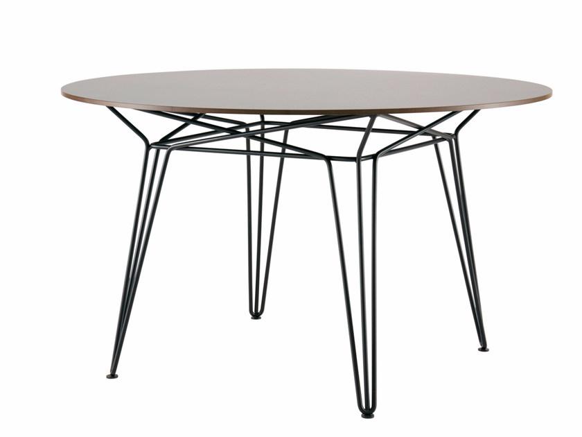 garden tables round hpl garden table parisi   hpl table by sp01 DRYDIVU