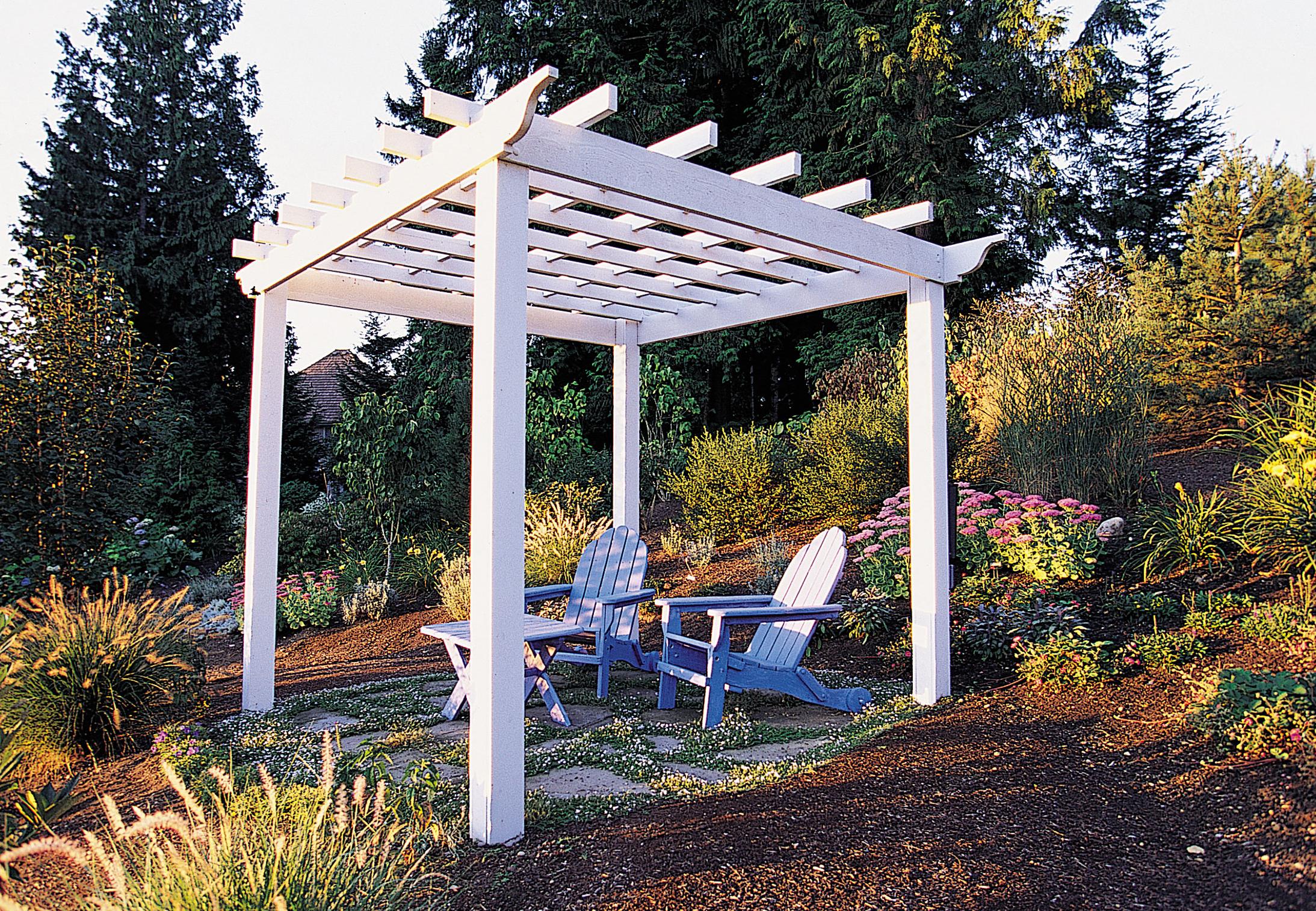garden trellises how to make a great garden trellis or arbor - sunset magazine OWSWTIC