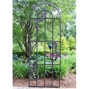 garden trellises rose steel arched trellis BVFXAJK