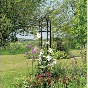 garden trellises steel obelisk trellis CAGTQGU