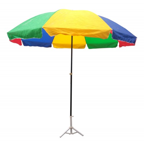 garden umbrella multi color 10 feet dia heavy duty with thick water JWBPOKQ