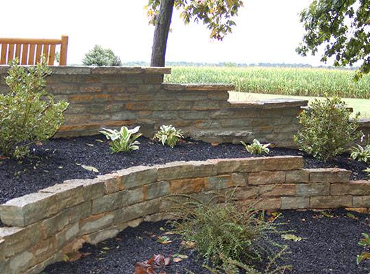 garden walls natural stone products. indiana cut stone garden wall ICXZTEJ
