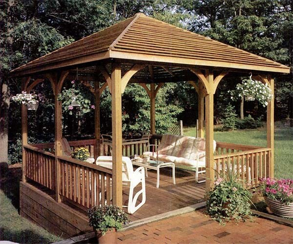 4 Gazebo Designs you can make a Choice from for your Outdoor Decoration