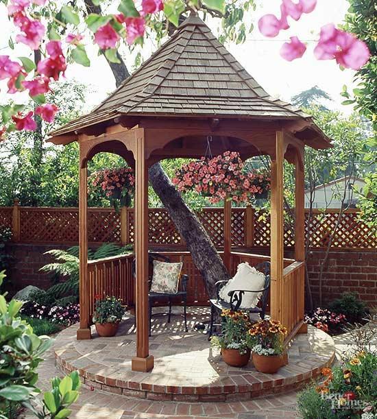 gazebo ideas extend your enjoyment of the great outdoors with these gazebo design ideas UYCJCBK