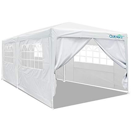 gazebo tent quictent 10u0027 x 20u0027 party tent gazebo wedding canopy bbq shelter pavilion DGNOXZE