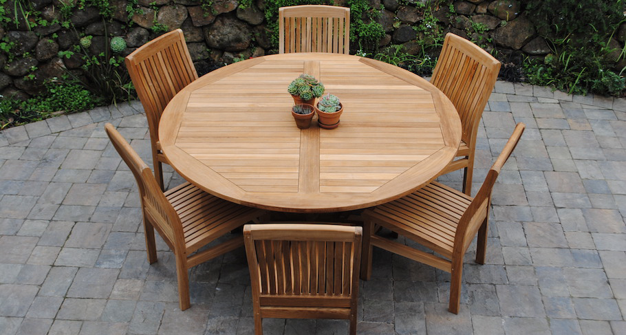 get teak furniture for your home! ORGMIQN
