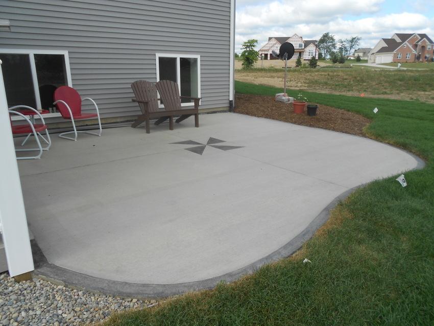 gorgeous cement patio designs home design pictures cement patio designs wm IFOJZZX