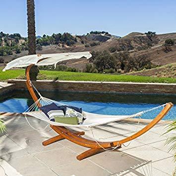 hammock with canopy weston patio furniture ~ hammock w/ canopy top RPAEPIV