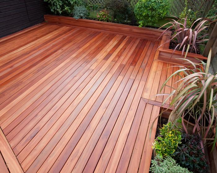 hardwood decking CGLCWBA