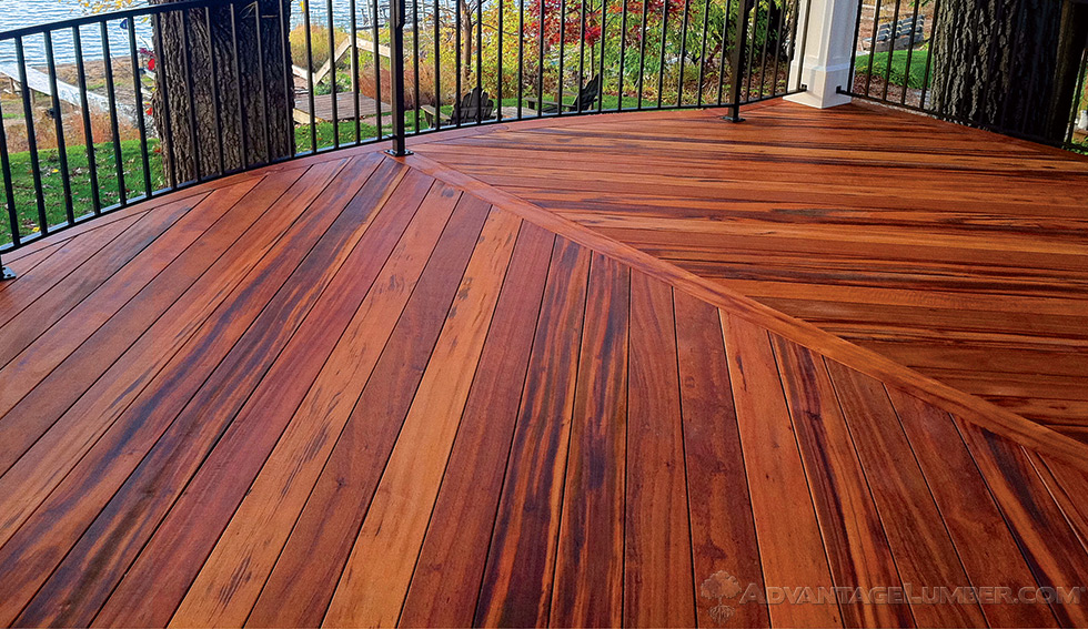 hardwood decking tigerwood decking HIAJPMQ