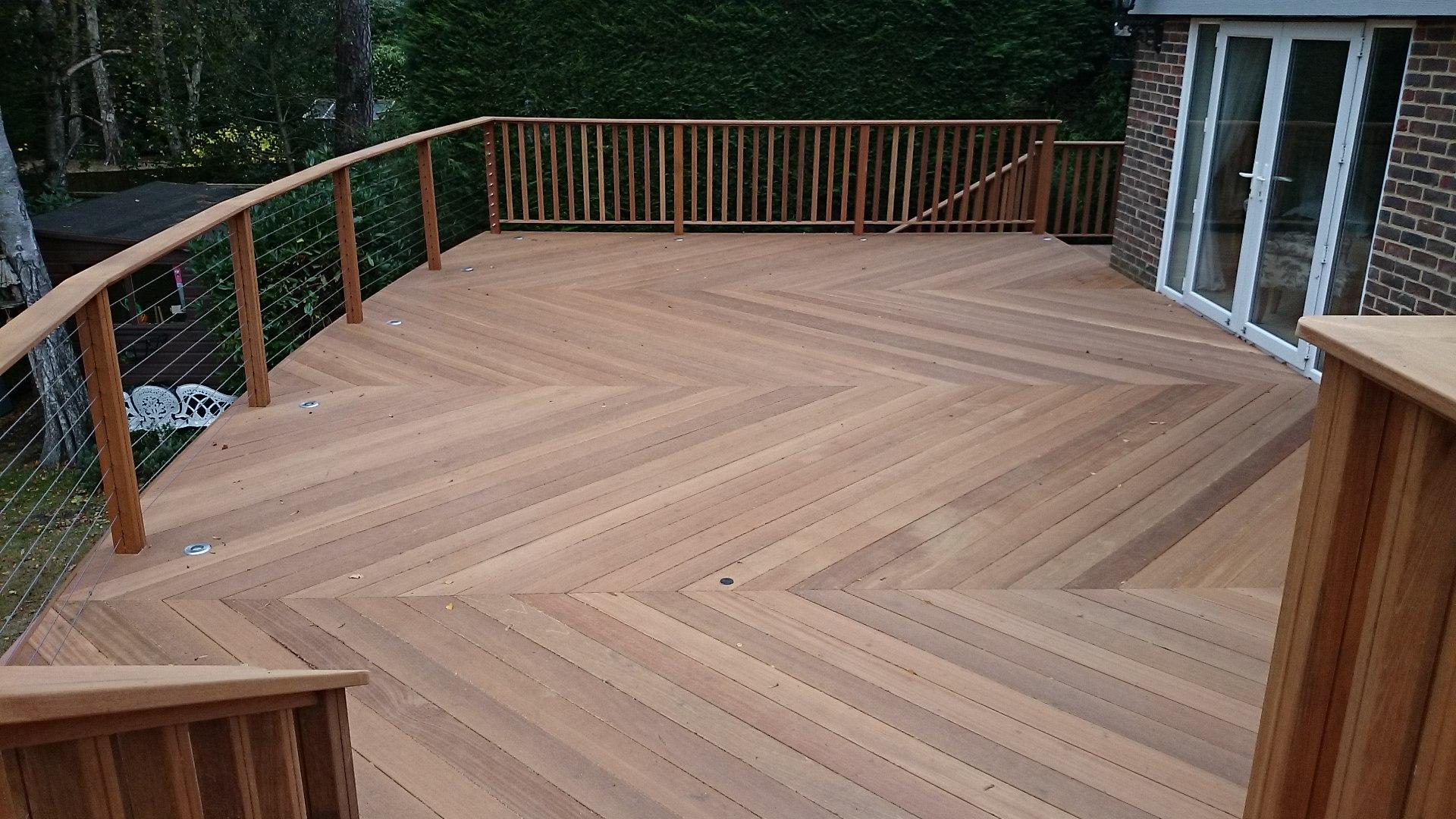 hardwood decking yellow balau 21 x 145mm smooth 2 sides - southgate timber   SRRUXER
