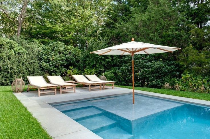 here are the latest trends in hamptons pool design - aquahampton - OMTJZQF