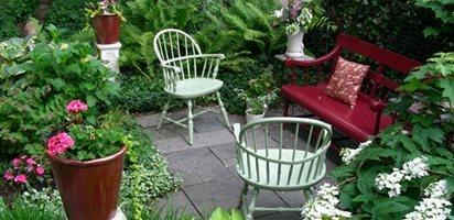 home garden design small garden, big interest eric sternfels (homeowner) philadelphia, pa RDYCWXI
