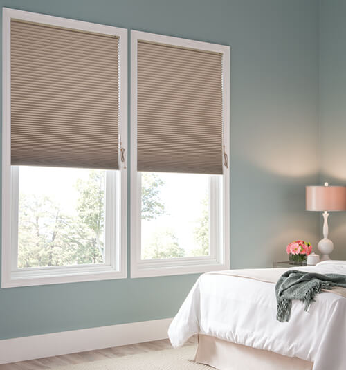 honeycomb shades blindsgalore® gallery cellular shades: blackout shown in pathway JHHDQWB