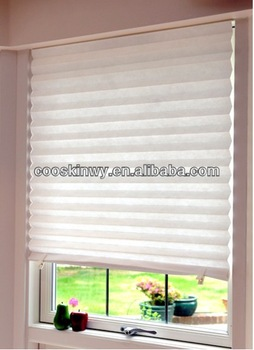 hot temporary pleated paper blinds JJGEOLE