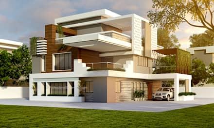 house design ideas 3d exterior house design: single family home by thepro3dstudio CDORZRK