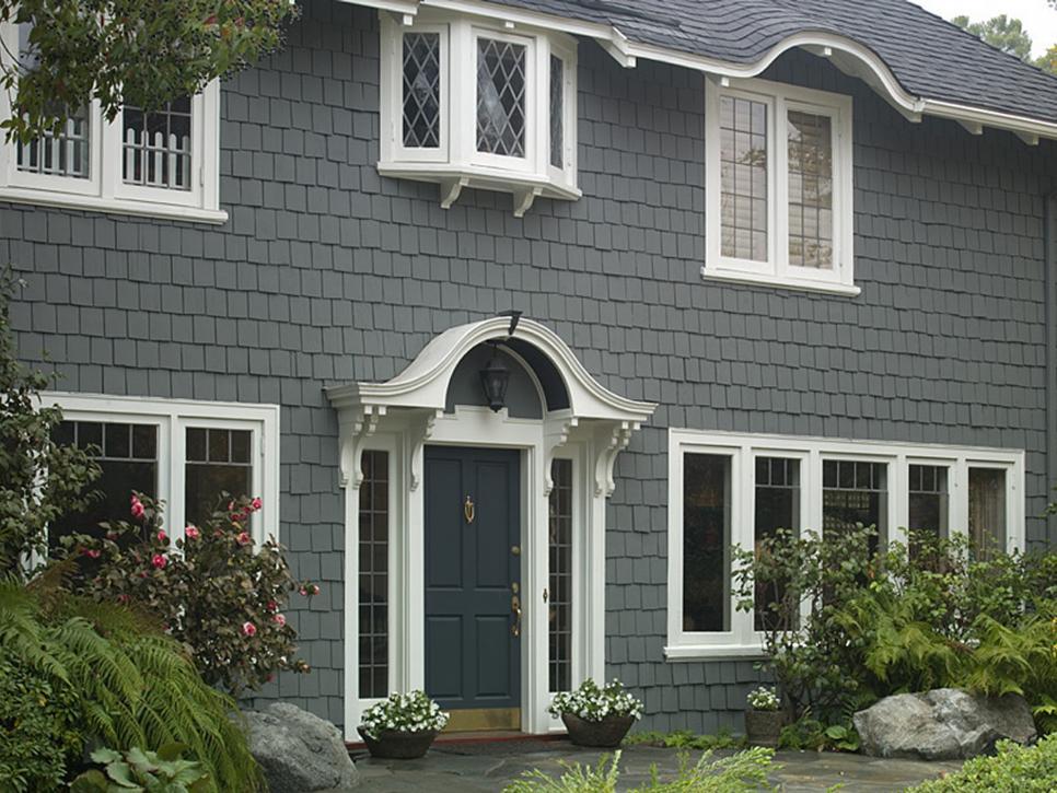 house exterior colors 28 inviting home exterior color ideas   hgtv JKBQIWM