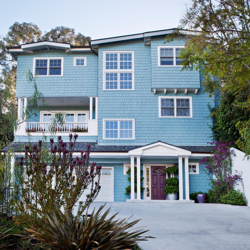 house exterior colors 28 inviting home exterior color ideas   hgtv QLGHCYU