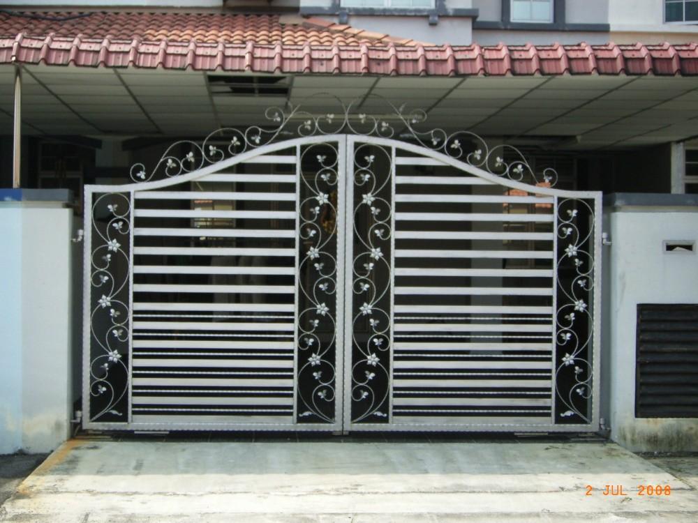 house gate design house different steel slide iron main gate designs - buy used sliding CNAXALB