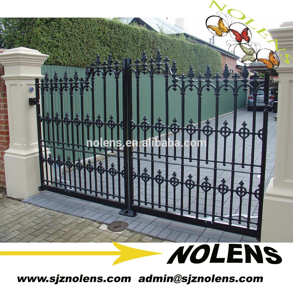 house gate design simple house steel main gate design - buy main gate design,iron main HIKPUKA