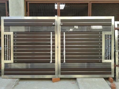house gate design steel gate NSOTKXG