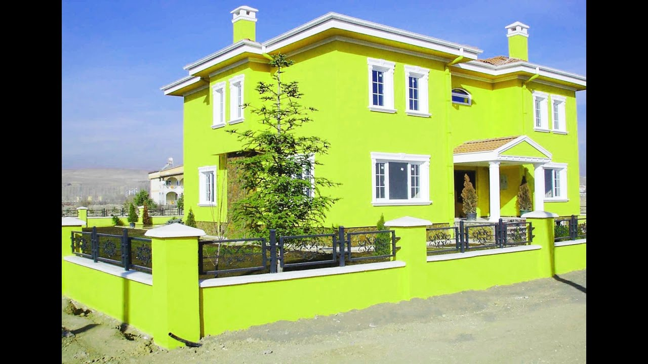 house painting ideas exterior house painting color ideas - youtube GEJLKVL