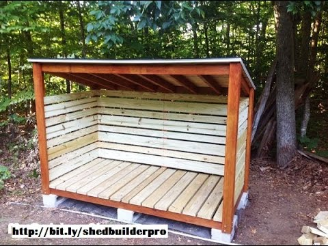 how to build a wood shed solid KNMWCSD