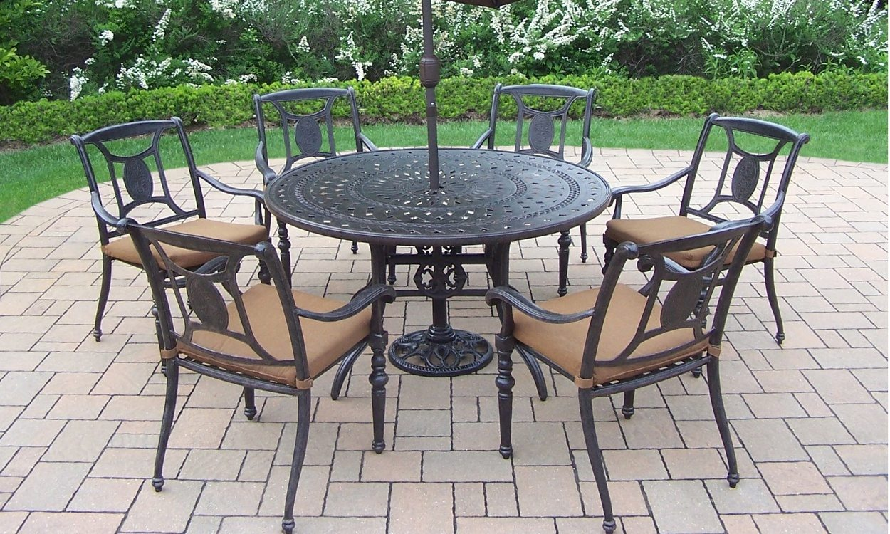 how to clean wrought-iron patio furniture DCACDJP
