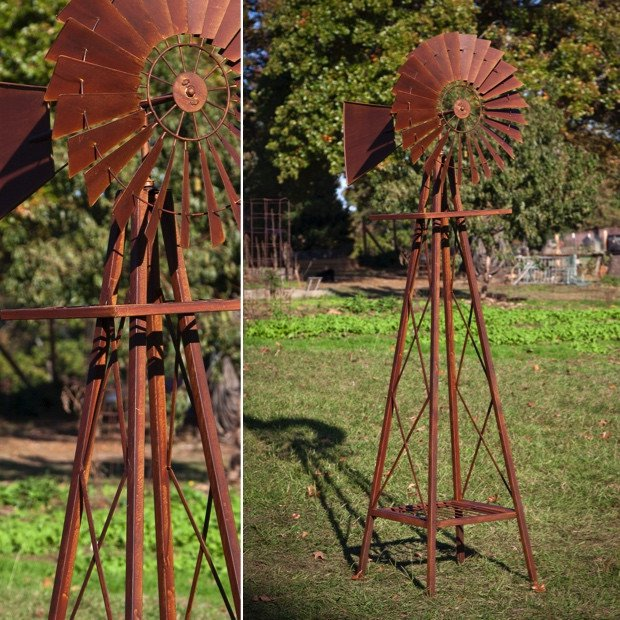 Adding a Garden windmill can make more Decorative Impact to your Garden