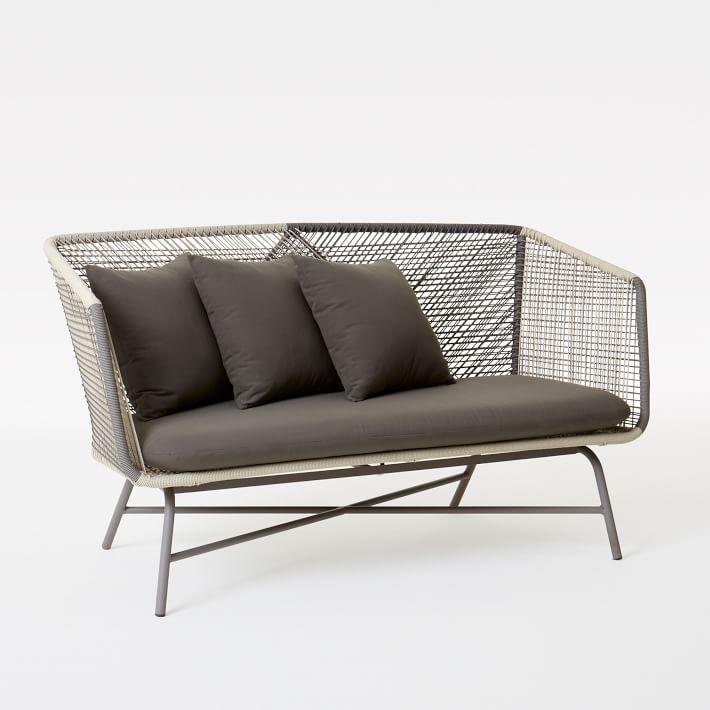 huron outdoor sofa - gray/seal   west elm MURDERZ