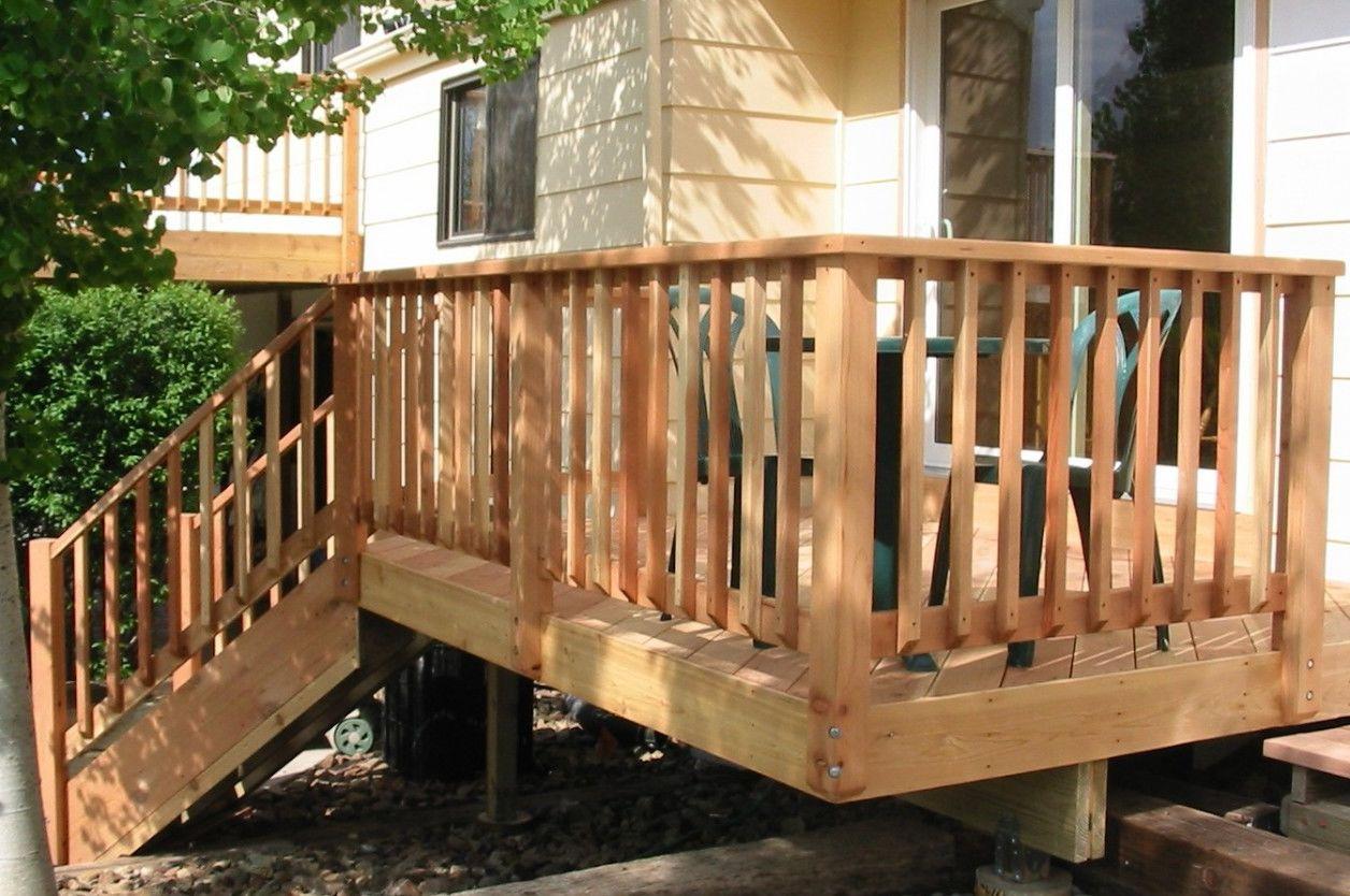 image of: great deck railing designs ROQTJOS