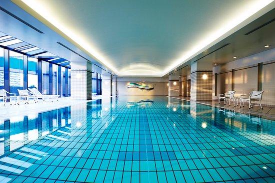 indoor swimming pools hyatt regency osaka: indoor swimming pool KRZJQZG